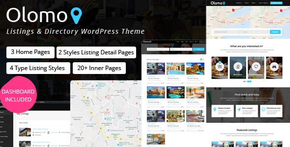 Wordpress Directory Template Olomo – Listings & Directory WordPress Theme
