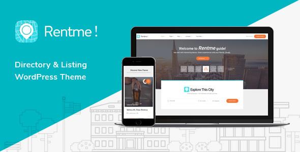 Wordpress Directory Template Rentme - Directory & Listings Multipurpose WordPress Theme