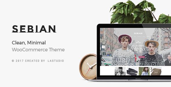 Wordpress Shop Template Sebian - Multi-purpose WordPress WooCommerce Theme