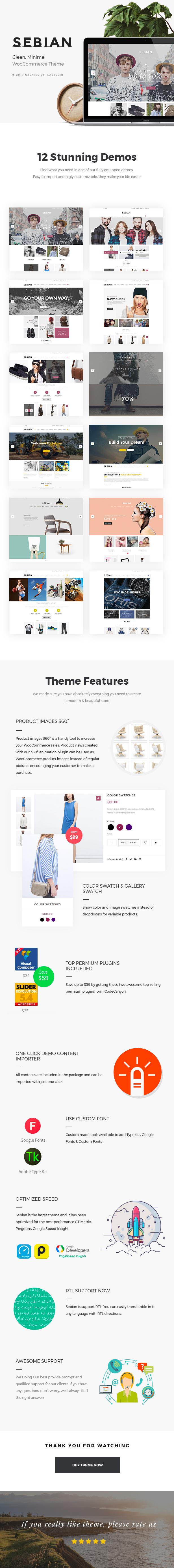 Sebian - Mehrzweck-WordPress-WooCommerce-Layout