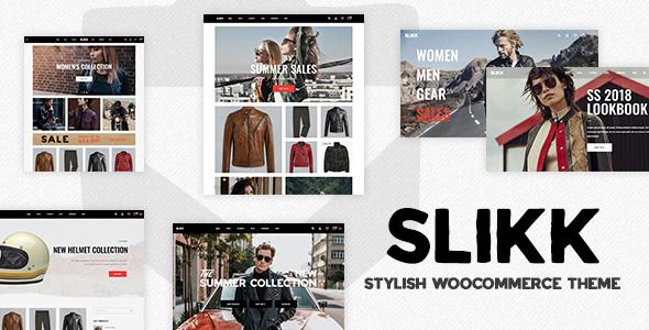 Wordpress Shop Template Slikk - A Stylish WooCommerce Theme