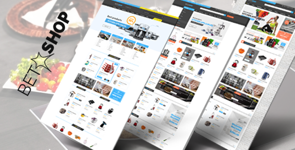 Wordpress Shop Template VG BetaShop - Kitchen Appliances WooCommerce Theme