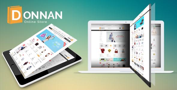 Wordpress Shop Template VG Donnan - Multipurpose Responsive WooCommerce Theme