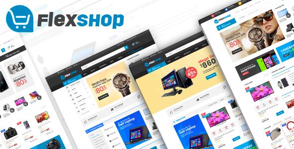 Wordpress Shop Template VG Flexshop - Multipurpose Responsive WooCommerce Theme