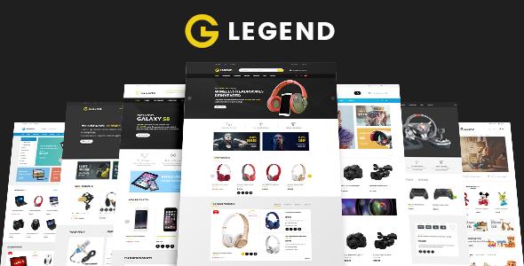Wordpress Shop Template VG Legend - Responsive Multi-Purpose WordPress Theme