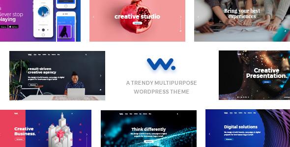 Wordpress Kreativ Template Wilson – Multipurpose WordPress Theme