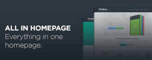 FlatBox - Flat Multipurpose WordPress Vorlage