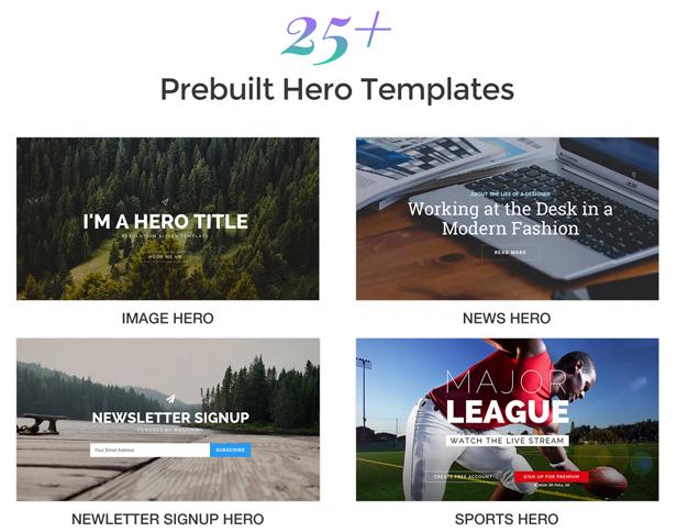 Ampster | Kreatives WordPress-Layout für Business-Websites