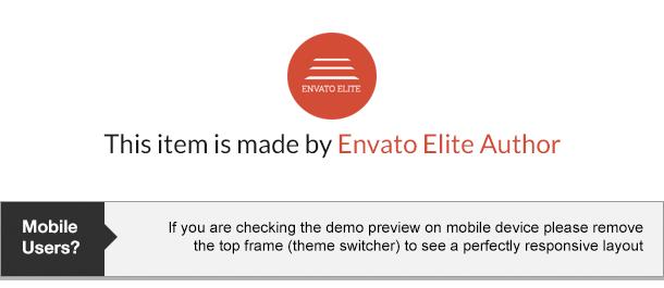 ELEGANCE - Ein kreatives WordPress-Template mit Shop - 1