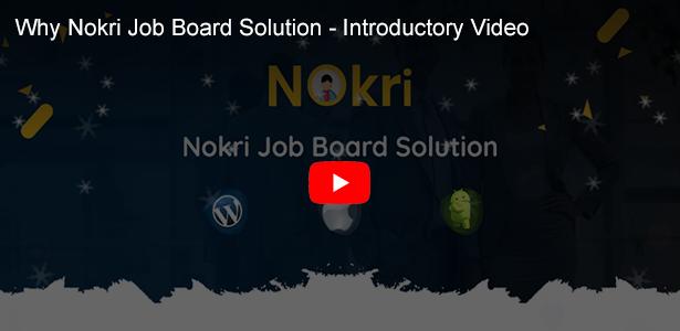 nokri job board solution einführungsvideo
