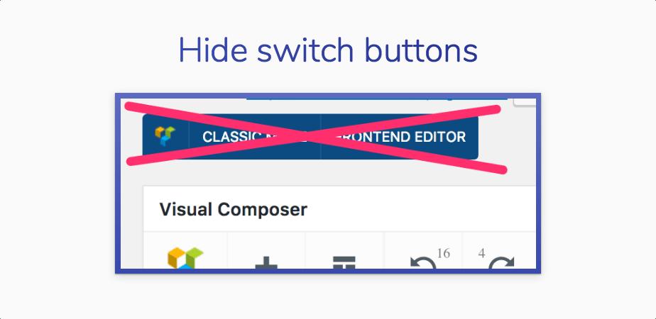 VC Tweaker - Visual Composer-Produktivitätserweiterung