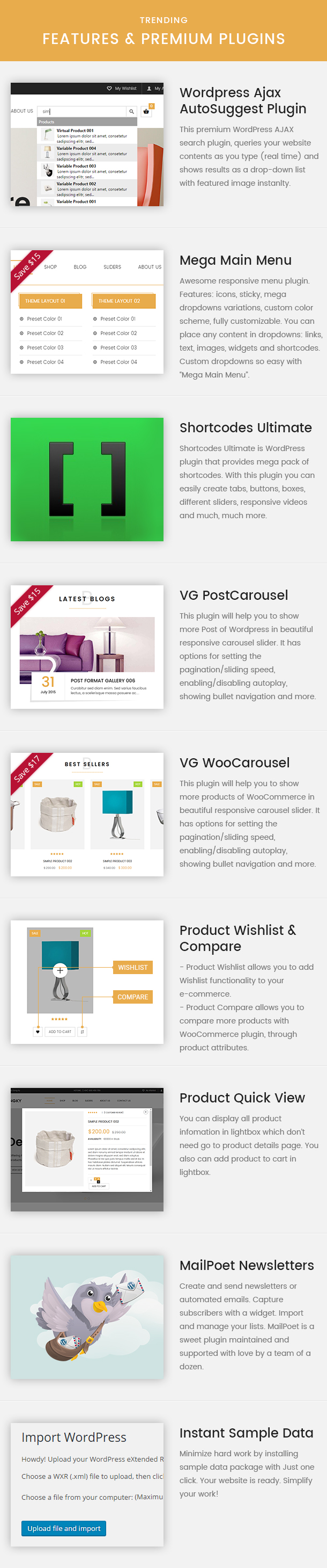 VG Dongky - Sauberes und minimales WooCommerce-WordPress-Template