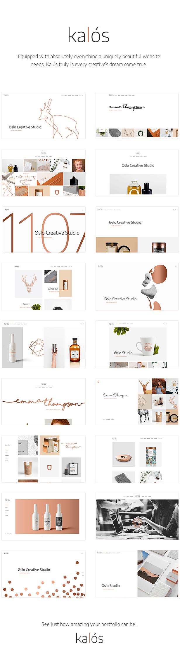 Kalόs - Ein sauberes Multi-Concept-Portfolio-Thema
