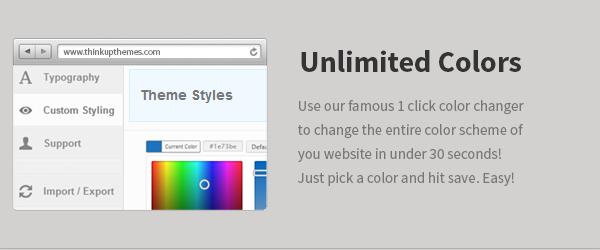 Unbegrenzte Farben