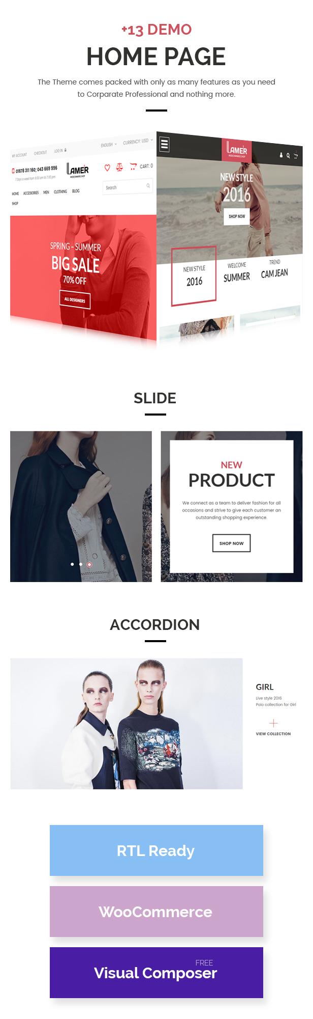 Lamer Mode - WooCommerce WordPress Template - 4