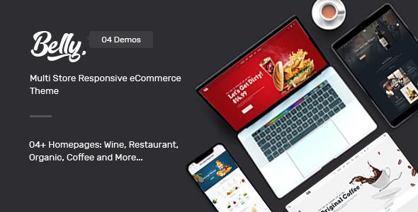 Wordpress Shop Template Belly - Multipurpose Theme for WooCommerce WordPress
