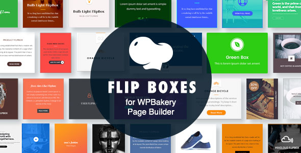 Wordpress Add-On Plugin Flip Boxes for WPBakery Page Builder (Visual Composer)