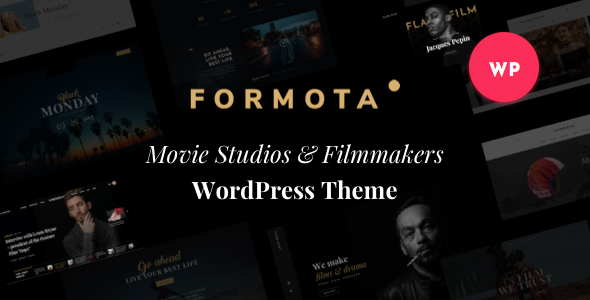 Wordpress Kreativ Template Formota - Movie Studios & Filmmakers WordPress theme