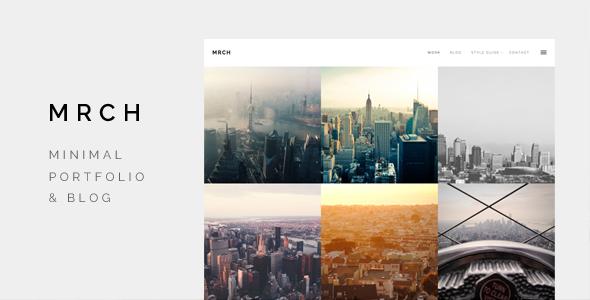 Wordpress Kreativ Template March - Minimal Portfolio & Blog theme