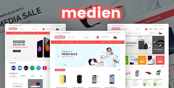 Wordpress Shop Template Medien - Multipurpose WooCommerce Shop Theme