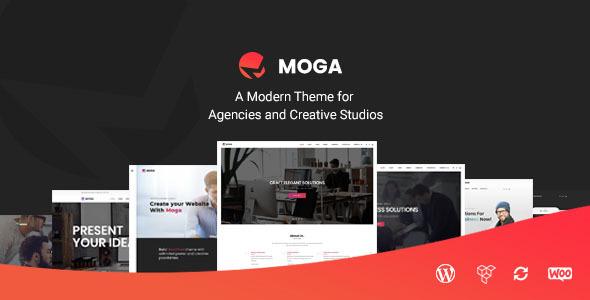 Wordpress Kreativ Template Moga - Creative Agency & Business WordPress Theme