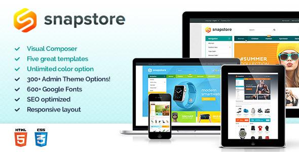 Wordpress Shop Template Snapstore - Premium WooCommerce Theme