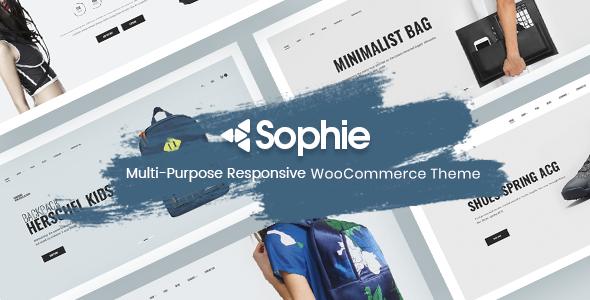 Wordpress Shop Template Sophie – Responsive WooCommerce Theme