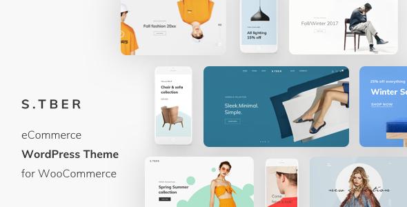 Wordpress Shop Template Stber - Fashion & Furniture WooCommerce WordPress theme