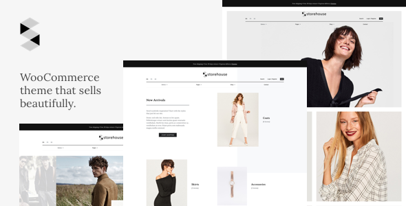Wordpress Shop Template Storehouse - Conversion Oriented WooCommerce Theme