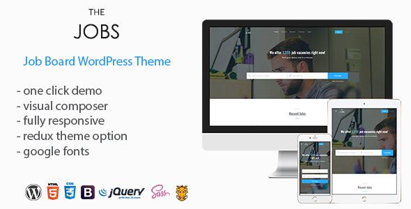 Wordpress Directory Template TheJobs - Job Board WordPress Theme