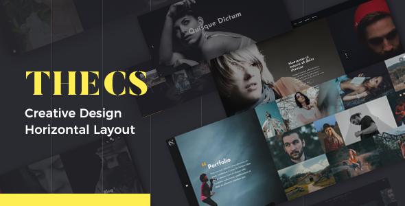 Wordpress Kreativ Template Thecs - Portfolio WordPress Theme