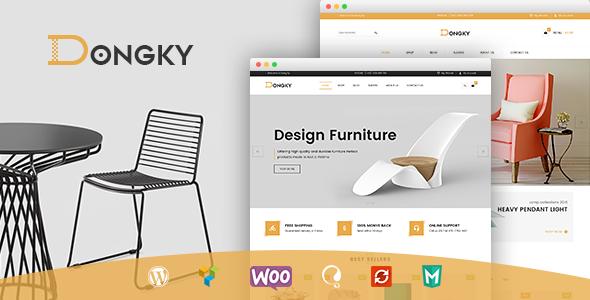 Wordpress Shop Template VG Dongky - Clean & Minimal WooCommerce WordPress Theme