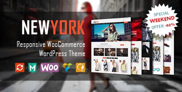 Wordpress Shop Template VG NewYork - Responsive WooCommerce WordPress Theme