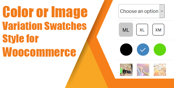 Wordpress E-Commerce Plugin WooCommerce Variation Swatches( Color, Image or Button )