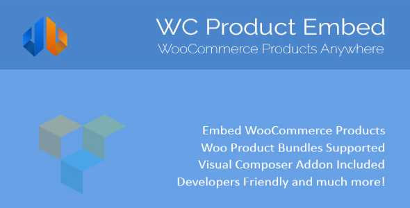 Wordpress Add-On Plugin WooCommerce Product Embed