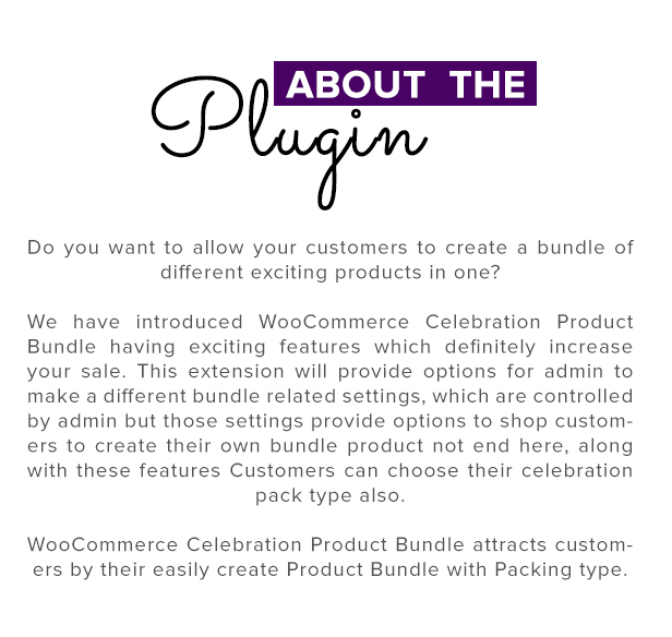 Wordpress E-Commerce Plugin WooCommerce Product Bundle with Gift Pack