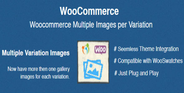 Wordpress E-Commerce Plugin Woocommerce Multiple Images per Variation