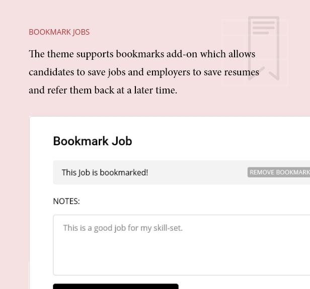 Lesezeichen Jobs und Lebensläufe