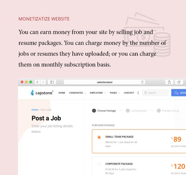 Geld verdienen und mit Job Board Geld verdienen
