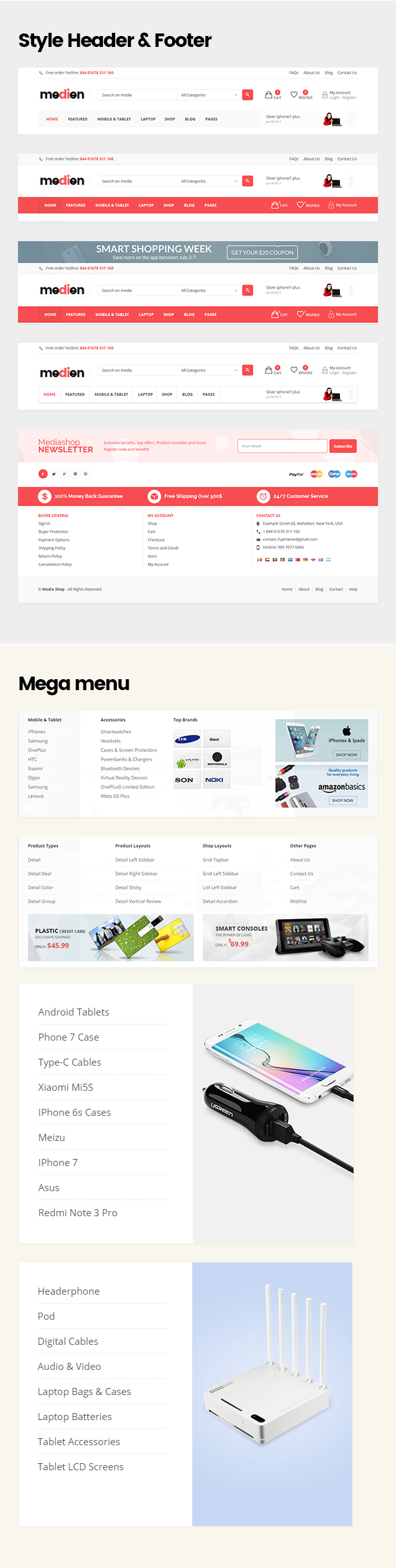Medien - Mehrzweck-WooCommerce-Shop-Thema