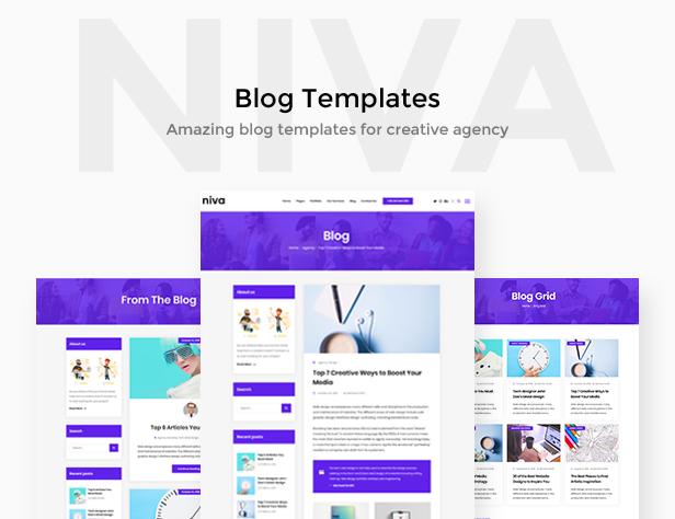 Niva - Kreativagentur & Freelancer WordPress Layout - 4