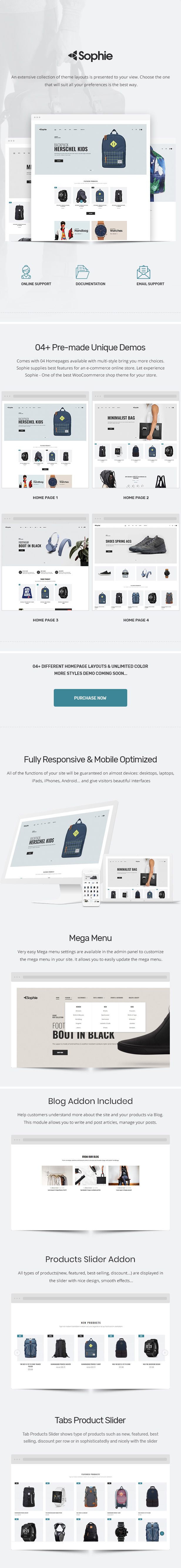 Sophie - Responsives WooCommerce Layout