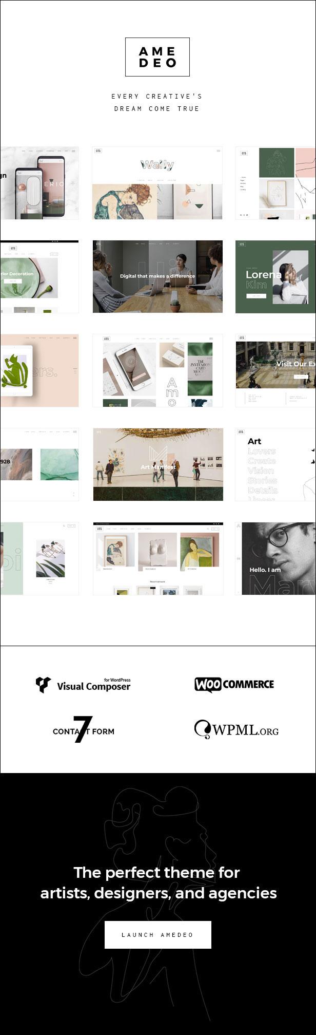 Amedeo - Multi-Konzept Künstler und Kreativagentur