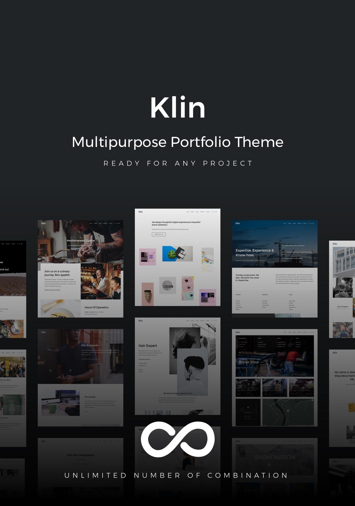 Klin - Mehrzweck-Portfolio - 1