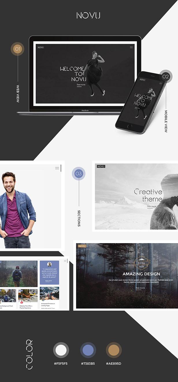 Novu - Modernes und kreatives WordPress-Layout - 3