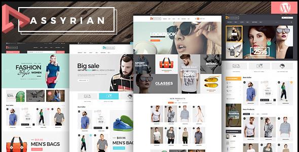 Assyrian - Responsive Fashion WordPress Vorlage