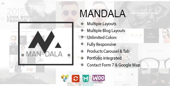 Mandala - Responsive Ecommerce WordPress Vorlage