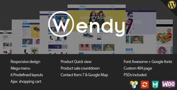 Wendy - Multi Store WooCommerce Vorlage