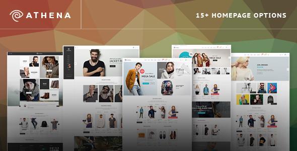 Wordpress Shop Template Athene - WooCommerce Responsive Fashion Theme