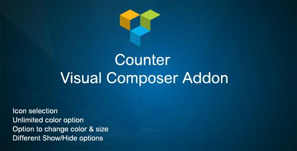 Wordpress Add-On Plugin Counter Visual Composer Addon
